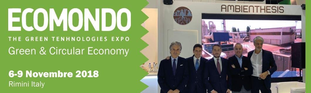 Ecomondo, Ambienthesis conferma prospettive di crescita internazionale