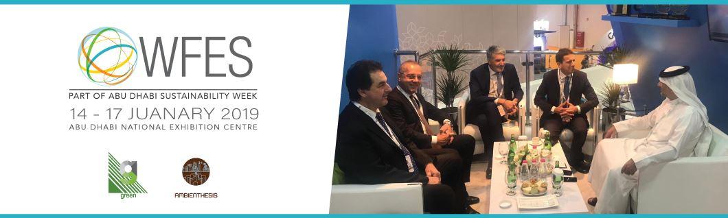"""Al via ad Abu Dhabi il """"World Future Energy Summit"""""""