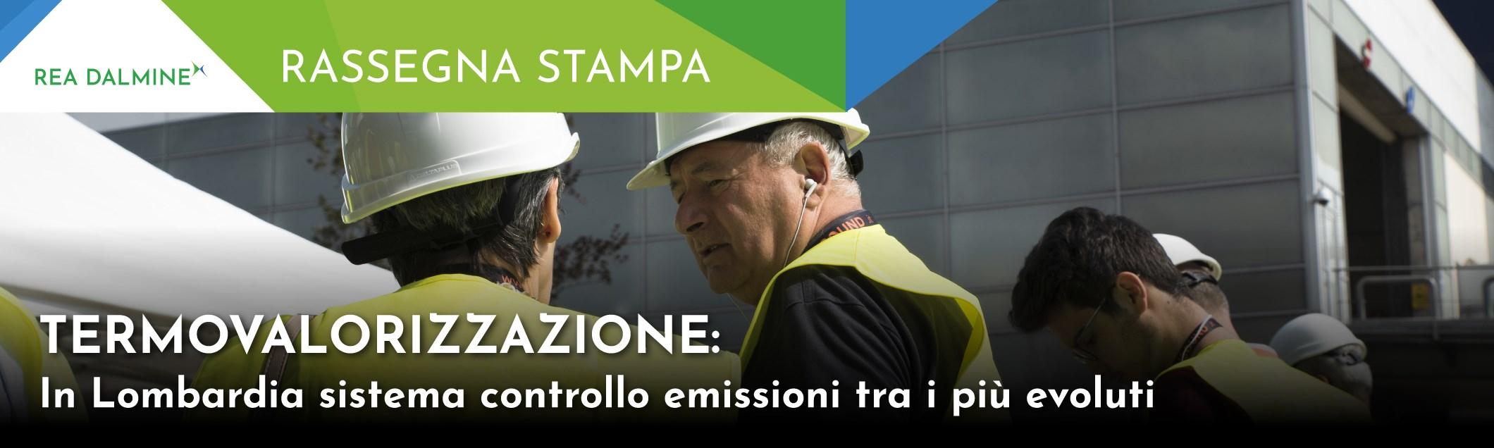 Termovalorizzazione: in Lombardia sistema controllo emissioni tra i più evoluti